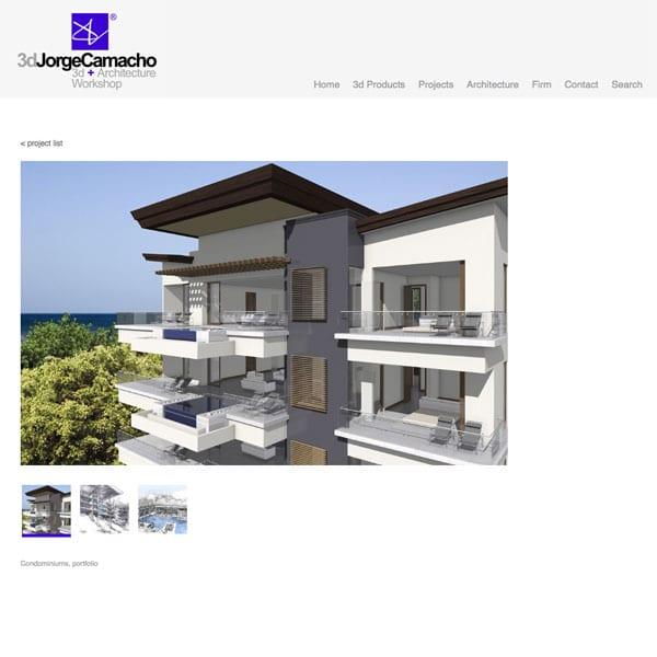 Jorge Camacho •architect