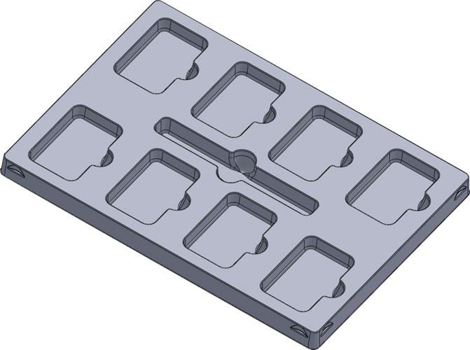 Inlay speldoos