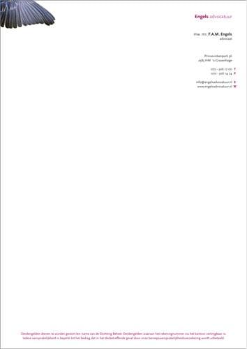 Huisstijldrukwerk - briefpapier