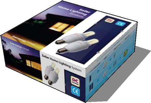 Packaging Solar Home Lighting System
