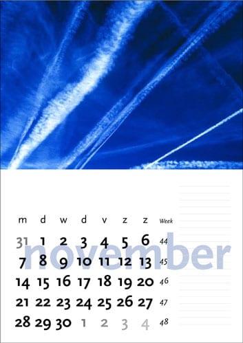 Gelegenheidskalender - november