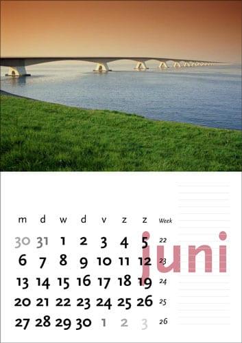 Gelegenheidskalender - juni