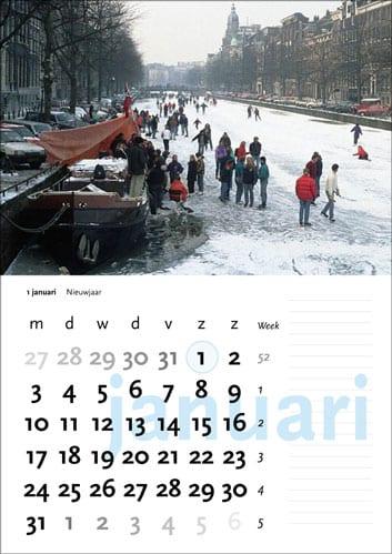 Gelegenheidskalender - januari