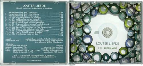 Booklet, CD en Inlay ontwerp