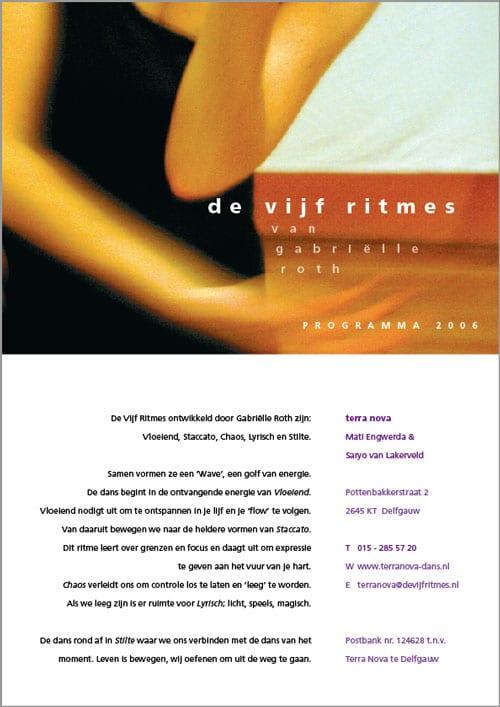 Brochure 2006 - voorzijde